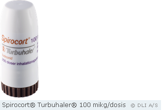 Spirocort® Turbuhaler® 100 mikg/dosis