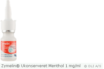 Zymelin® Ukonserveret Menthol 1 mg/ml