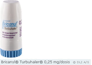 Bricanyl® Turbuhaler® 0,25 mg/dosis