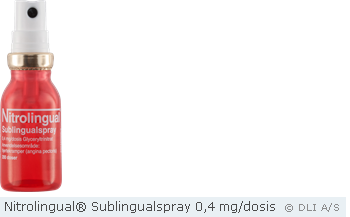 Nitrolingual® Sublingualspray 0,4 mg/dosis