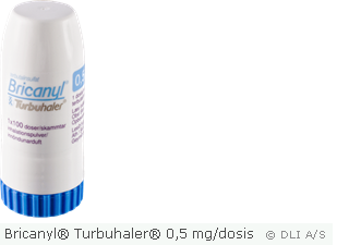 Bricanyl® Turbuhaler® 0,5 mg/dosis