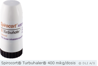 Spirocort® Turbuhaler® 400 mikg/dosis