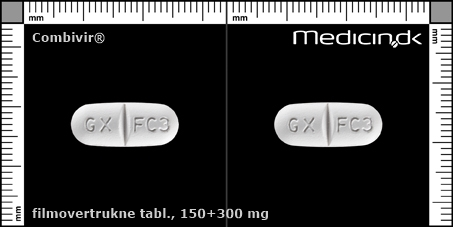 filmovertrukne tabletter 150+300 mg