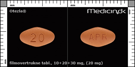 filmovertrukne tabletter 10+20+30 mg (20 mg)