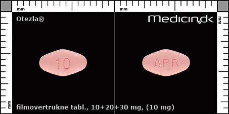 filmovertrukne tabletter 10+20+30 mg (10 mg)